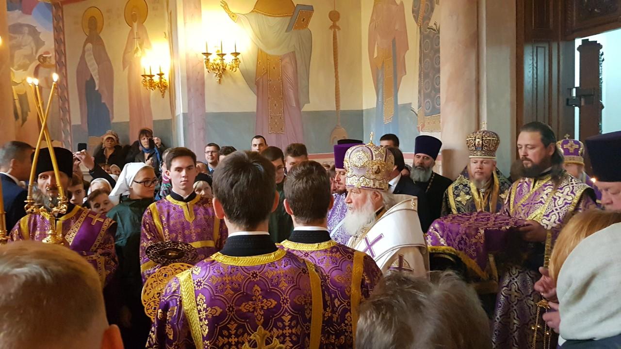 Святейший Патриарх Кирилл в Самаре