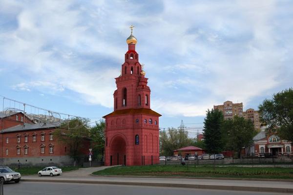 Строительство колокольни